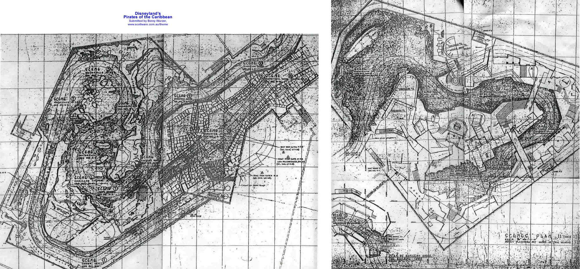 Disney park ride layouts maps blueprints screenshots and more blueprint malvernweather Image collections